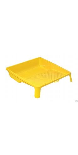 Ванночка для краски, пластмассовая 33х34 см желтая